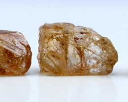 NR!!!! 70.65 Cts Natural - Unheated Orange Brown Topaz Rough Lot