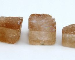 NR!!!! 131.10 Cts Natural - Unheated Orange Brown Topaz Rough Lot