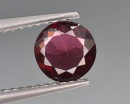 Natural Rhodolite Garnet 0.81 Cts, Top Luster