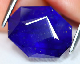 Blue Sapphire 6.56Ct Master Cut Royal Blue Color Sapphire A1604