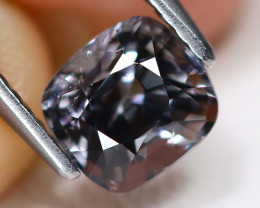 Spinel 1.30Ct Octagon Cut Natural Burmese Gray Color Spinel A1615
