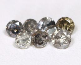 Salt And Pepper Diamond 1.17Ct Untreated Fancy Diamond Lot A1618
