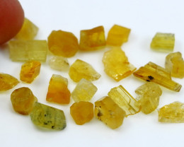NR!!!! 30.10 Cts Natural - Unheated Yellow Heliodor Rough Lot