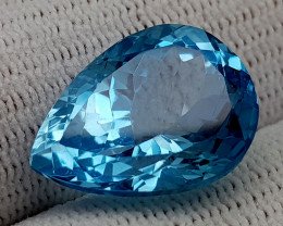 15.35CT BLUE TOPAZ  BEST QUALITY GEMSTONE IIGC03