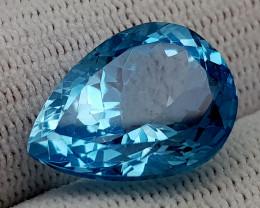 15.35CT BLUE TOPAZ  BEST QUALITY GEMSTONE IIGC03