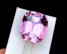 52.60 Carats Natural Pink Fancy Kunzite Gemstone