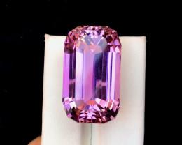 80.70 Carats Natural Pink Fancy Kunzite Gemstone