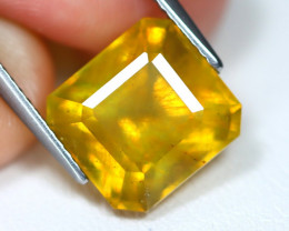 Yellow Sapphire 8.12Ct Oval Cut Yellow Color Sapphire C1608