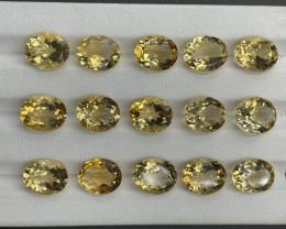 47.49 CT Citrine Gemstones parcel