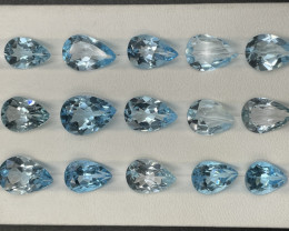 58.74 CT Topaz Gemstones parcel