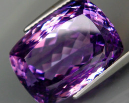 22.17 ct. Natural Top Nice Purple Amethyst Unheated Brazil - IGE Сertified