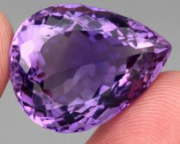 29.13 ct 100% Natural Earth Mined Unheated Purple Amethyst, Uruguay