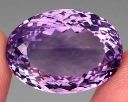37.66 ct 100% Natural Earth Mined Unheated Purple Amethyst, Uruguay