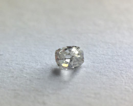 0.035 ct Antique Grey I2 Old French Cut Rectangular Diamond