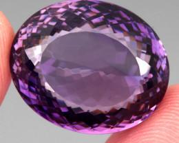 33.43 ct 100% Natural Earth Mined Unheated Purple Amethyst, Uruguay