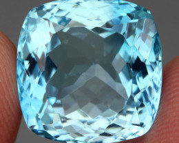 28.54  ct. 100% Natural Earth Mined Top Quality Blue Topaz Brazil