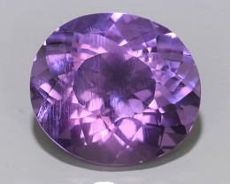 4.29 CTS AWESOME NATURAL OVAL WONDERFUL~VIOLET AMETHIYST GEM!!