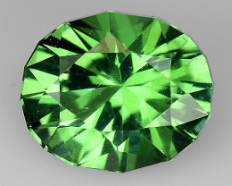 0.86 CT AFHANISTAN TOURMALINE BLUE GREEN COLOR AT8