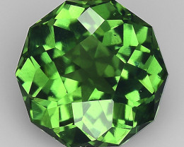 0.79 CT AFHANISTAN TOURMALINE BLUE GREEN COLOR AT15