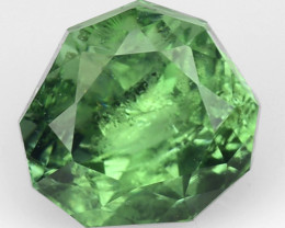 0.78 CT AFHANISTAN TOURMALINE BLUE GREEN COLOR AT22
