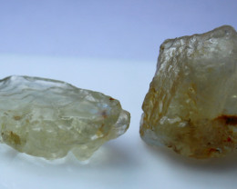 103.25 Cts Natural - Unheated Yellow Orthocals Rough Lot