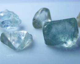 98.30 CtNatural - Beautiful Blue Topaz Rough Lot