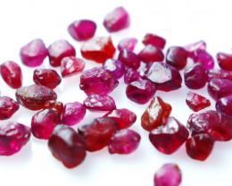 50  CT Natural - Unheated Purple Garnet Rough Lot