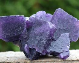 Fluorite - 276 grammes - Cave-In-Rock Mine, Hardin Co., Illinois, USA