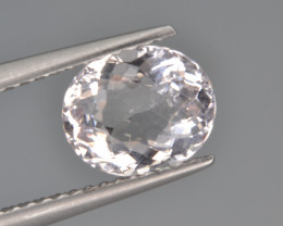 Natural Morganite 1.35 Cts, Top Quality.