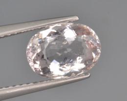Natural Morganite 1.81 Cts, Top Quality.
