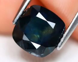 Teal Sapphire 2.56Ct Square Cut Natural Australian Teal Sapphire B1718