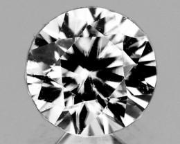 5.30 mm Round 0.87ct White Zircon [VVS]