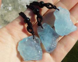 Radom 1 pcs aquamarine adjustable necklaces
