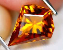 Madeira Citrine 2.62Ct VVS Master Cut Natural Orange Citrine A1703