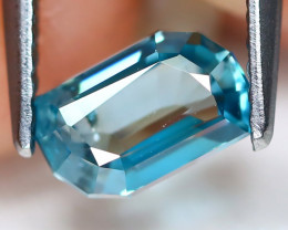 Blue Zircon 1.58Ct VS Fancy Cut Natural Cambodian Blue Zircon A1708