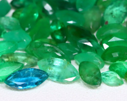 Zambian Emerald 13.31Ct Marquise Cut Natural Green Emerald Lot A1712