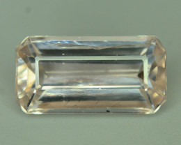 Rarest 2.85 Ct Natural Peach Topaz ~ Katlang Mine ~ No Heat / No Treat