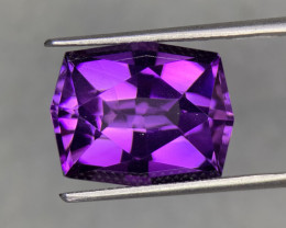 10.90 Cts  Top color Fancy cut Natural  Amethyst Gemstone