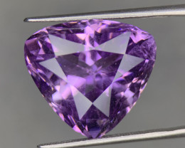 21.20 Cts light purple Fancy cut Natural  Amethyst Gemstone