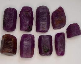109.0 CT Top Quality Ruby Crystals ~ Madagascar