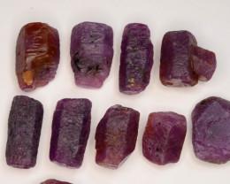 100.10 CT Top Quality Ruby Crystals ~ Madagascar
