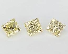 3/0.50 cts  , Unique Diamonds , Loose Natural Diamonds