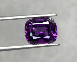 6.10 Cts  Top color Fancy cut Natural  Amethyst Gemstone