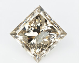 1.13 cts , Natural Diamond Gemstone , Champagne Colored Diamond