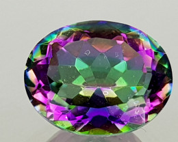 2.38Crt Mystic Quartz Natural Gemstones JI104