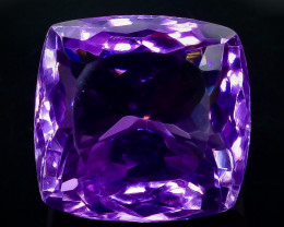 14.05 Crt Natural Amethyst Faceted Gemstone.( AB 57)