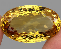 89.35 ct. Top Quality Natural Golden Yellow Citrine Brazil Unheated