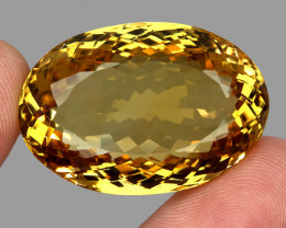 95.45 Ct. 100% Natural Earth Mined Top Quality Yellow Golden Citrine
