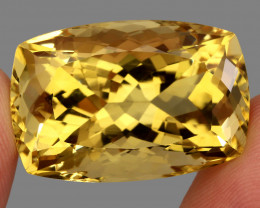 Jumbo Very Clean  54.32 Ct  Antique 100% Natural AAA Yellow Citrine Brazil