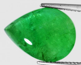 9.15 Cts Natural Vivid Green Colombian Emerald Loose Gemstone